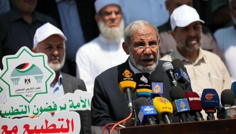 Hamas-Funktionär und ehemaliger Außenminister der Palästinensischen Autonomiebehörde Al-Zahar