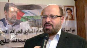 Der Hamas-Repräsentant in Teheran Khaled Al-Qaddoumi