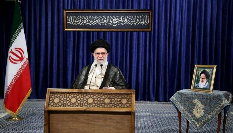 Ayatollah Khamenei wetterte gegen das Normalisierungsabkommen zwischen Israel und den VAE