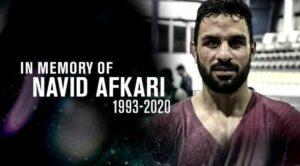 Der im Iran hingerichtete Ringer Navid Afkari