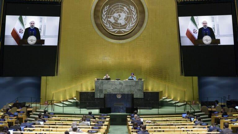 Rohanis Rede vor der UN-Vollversammlung