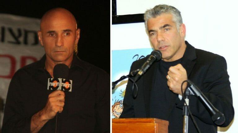 Yesh-Atid-Politiker Shelach (li.) fordert Parteichef Lapid (re.) heraus