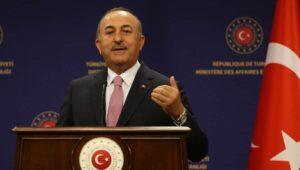 Der türkische Außenminister Mevlut Cavusoglu