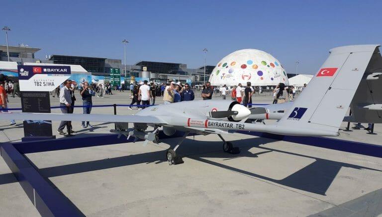 Die türkische Drohne Bayraktar TB 2 ist ein Exportschlager