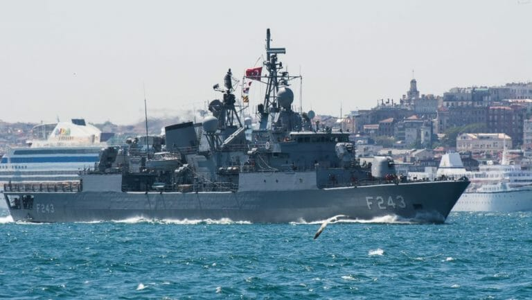 Die Marine spielt neuerdings eine entscheidende Rolle in der türkischen Außenpolitik
