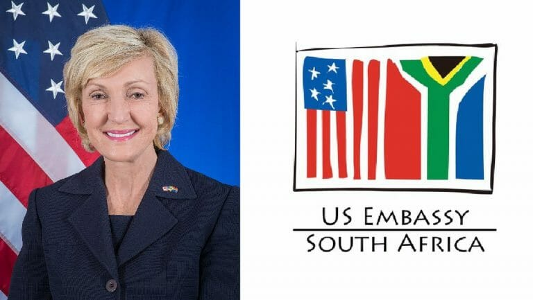 Die US-Botschafterin in Südafrika Lana Marks