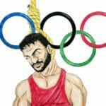 Der von iranischen Regime ermordete Ringer Navid Afkari