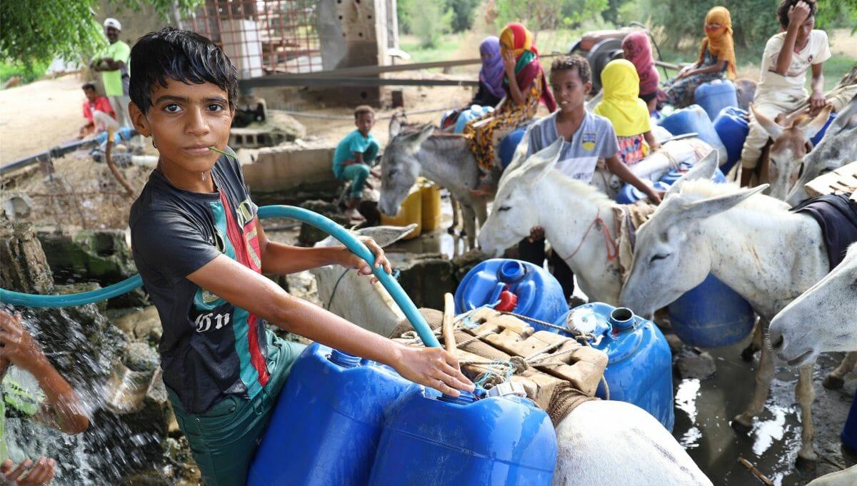 Die humanitäre Situation im Jemen ist katastrophal