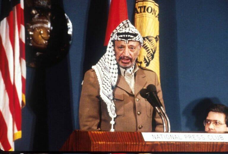 Maßgeblich für die Lage der Palästinenser verantwortlich: der 2004 verstorbene Jassir Arafat. (© imago images/ZUMA Press)