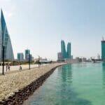 Skyline von Manama, der Hauptstadt von Bahrain. (© imago images/Eibner)