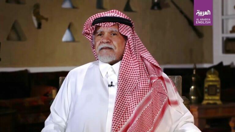 Der saudische Top-Diplomat Bandar bin Sultan hatte für die palästinensische Führung keine freundichen Worte übrig. (© Al Arabiya/Youtube)