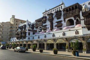 In der Altstadt von Dschidda, Saudi-Arabien. (© imago images/imagebroker)
