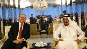 Der türkische Präsident Erdogan und Saudi-Arabiens König Salman