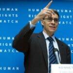 Kenneth Roth, Direktor von Human Rights Watch, ist wegen seinen extrem einseitigen Äußerungen über Israel schön öfter Antisemitismus vorgeworfen worden. (© imago images/ZUMA Press)
