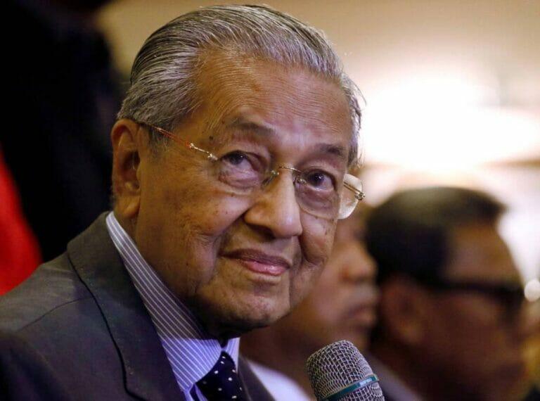 Millionen Franzosen töten? Für Mahathir Mohammed kein Poblem. (© imago images/HBLnetwork)