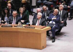 Bei den Vereinten Nationen stoßen die Klagen der Palästinenser aktuell auf mehr offene Ohren als unter den arabischen Staaten. (© imago images/ZUMA Press)