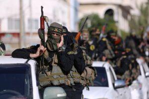 Parade des Palästinensischen Islamischen Dschihad in Gaza. Nähert sich die Türkei jetzt auch dieser Terrorgruppe an? (© imago images/ZUMA Wire)