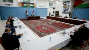 Treffen der palästinensischen Führung in Ramallah