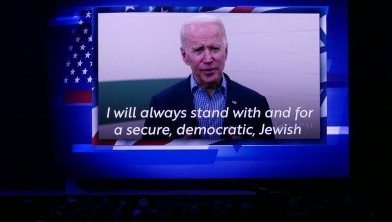 Joe Bidens Ansprache auf der AIPAC-Konferenz 2020