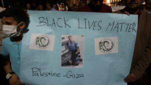 Aktivisten behaupten immer wider US-Polizisten würden ihr Repressionshandwerk in Israel lernen