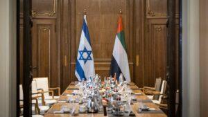 Der israelische und der emiratische Außenminister trafen kürzlich in Berlin aufeinander