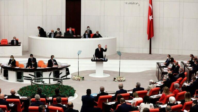 Erdogan eröffnet die neue Legislaturperiode des türkischen Parlaments