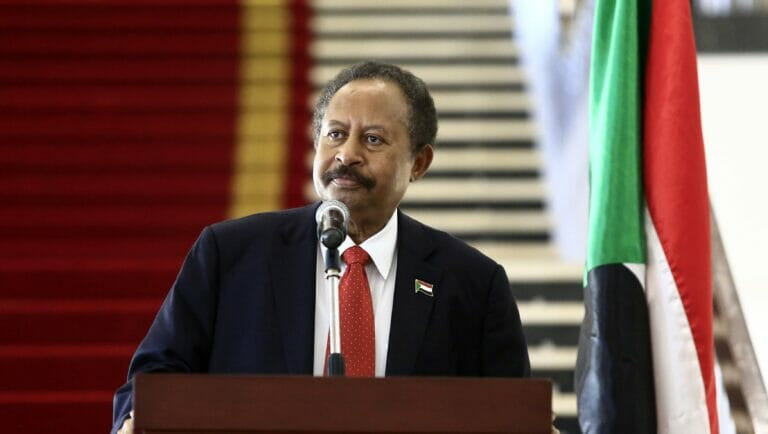 Der sudanesische Premierminister Abdullah Hamdok ist gegen die Normalisierung mit Israel zum jetzigen Zeitpunkt