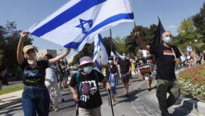 In Israel gehen die Proteste gegen Netanjahu trotz Corona-Lockdown weiter