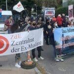 Demonstration gegen das Islamische Zentrum Hamburg
