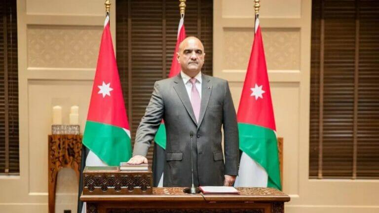Jordaniens neuer Premierminister Bisher Khasawneh wird vereidigt