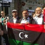 Der spätere Manchester-Attentäter 2015 bei einer Anti-Netanjahu-Demonstration