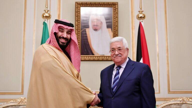Saudi-Arabien ließ den Palästinensern ausrichten, dass ihre Kritik unerwünscht ist