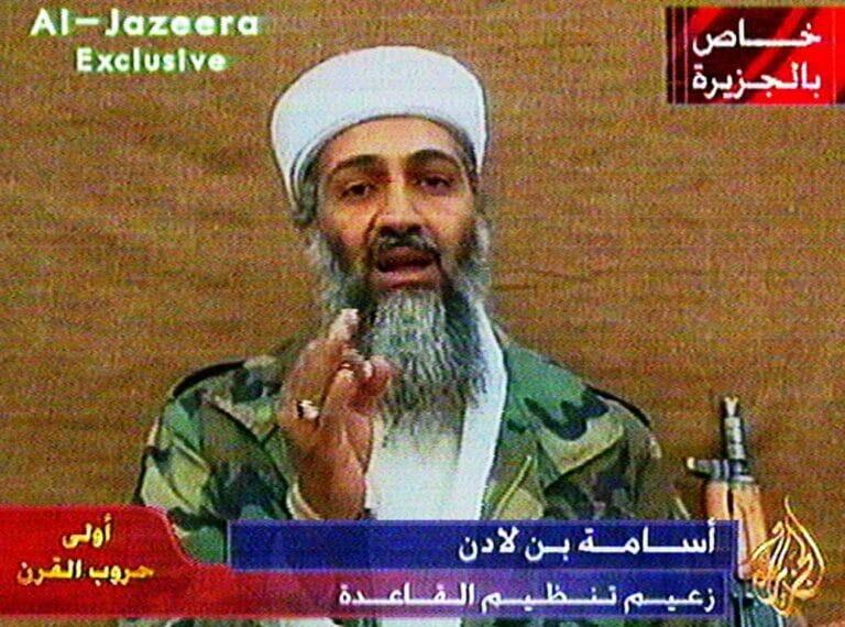 Suchte nicht erst nach 9/11 bei den Taliban Zuflucht: Osama bin Laden. (© imago images/UPI Photo)