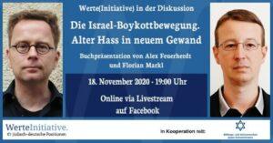 Präsentation des neuen Buches über die Israel-Boykottbewegung. (© Werteinitiative)
