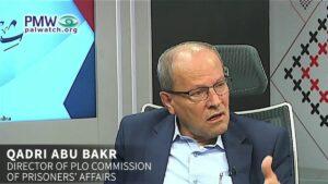Der Direktor der PLO-Kommission für Gefangenenangelegenheiten Qadri Abu Bakr