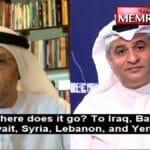 Der emiratische Politiker Dirar Belhoul al-Falasi im Gespräch mit dem kuwaitischen Diwan Al-Mulla Online TV