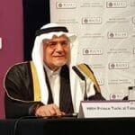 Der ehemalige Chef des saudischen Geheimdienstes und ehemalige Botschafter in Washington Turki al-Faisal