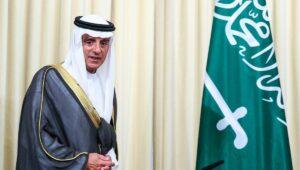 Saudi-Arabiens Staatsminister für Auswärtige Angelegenheiten Adel al-Jubeir