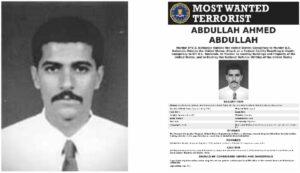 FBI-Fahndungsplakt für den als Abu Muhammad al-Masri bekannten Al-aida-Terroristen Abdullah Ahmed Abdullah