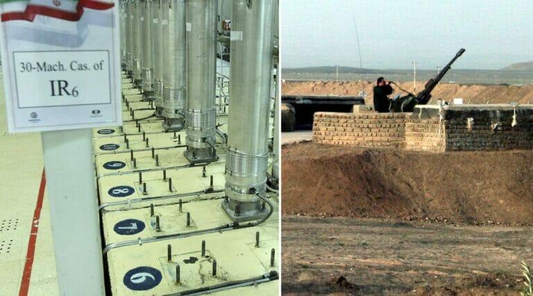 Uranzentrifugen, Luftabwehr in Natanz