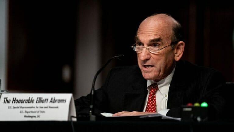Der US-Gesandte für den Iran Elliott Abrams