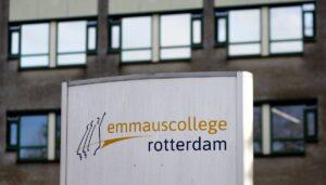 Am Emmaus-College in Rotterdam musste ein Lehrer wegen einer Karikatur untertauchen