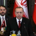 Ein Bild aus besseren Tagen: erdogan und sein Schwiegersohn Albayrak