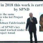 Netanjah präsentiert das geheim weitergeführte Atomprogramm des Iran
