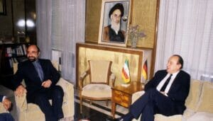 """Die Grundsteinlegung des """"kritischen Dialogs"""": Genschers Teheran-Besuch 1984"""