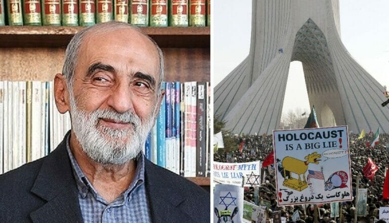 Kayhan-Herausgeber Hossein Shariatmadari verfasste abstrusen Artikel über einen Holocaust zionistischer Juden