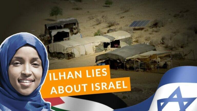 Die demokratische US-Abgeordnete Ilhan Omar hetzt wieder einmal gegen Israel