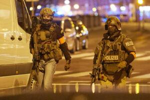 Wiener Polizei im Einsatz