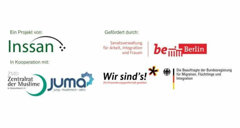 Gefördert von der Stadt Berlin und der deutschen Bundesregierung: Inssan e.V.