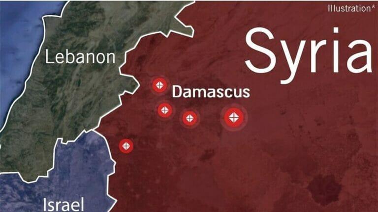 Luftschläge der Israeli Defence Forces gegen syrische und iranische Ziele am 20. November
